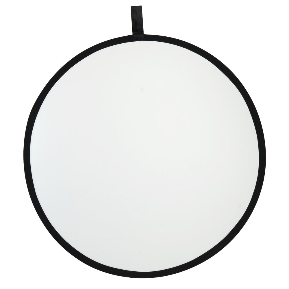 "FACTORY SECOND:  Rogue 32"" (80cm) 2-in-1 Super Soft Silver / Natural White Collapsible Reflector"