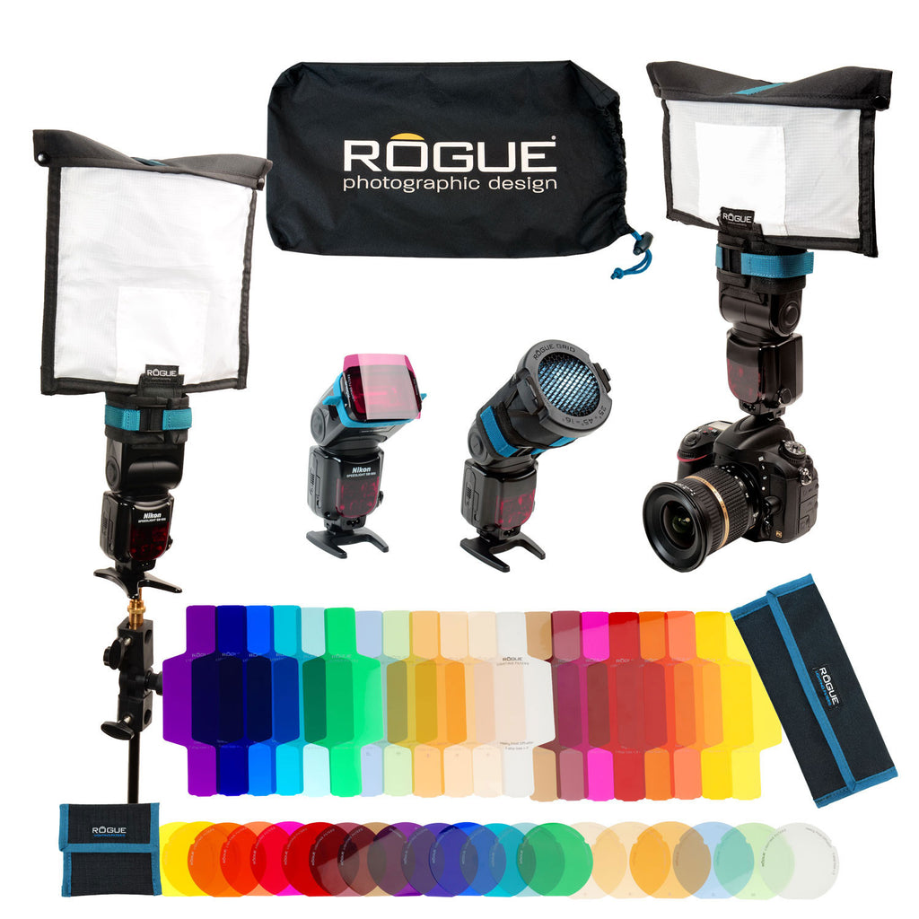 rogue flashbender 2 portable lighting kit rogue photographic design