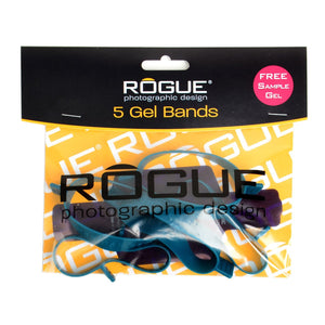 Rogue Flash Gel Band 5 Pack (for large flashes)