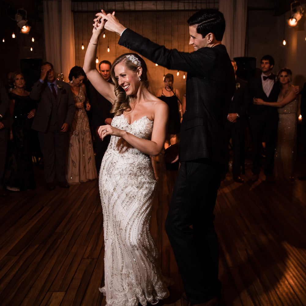 1 Light Shooting the First Dance with Cliff Mautner