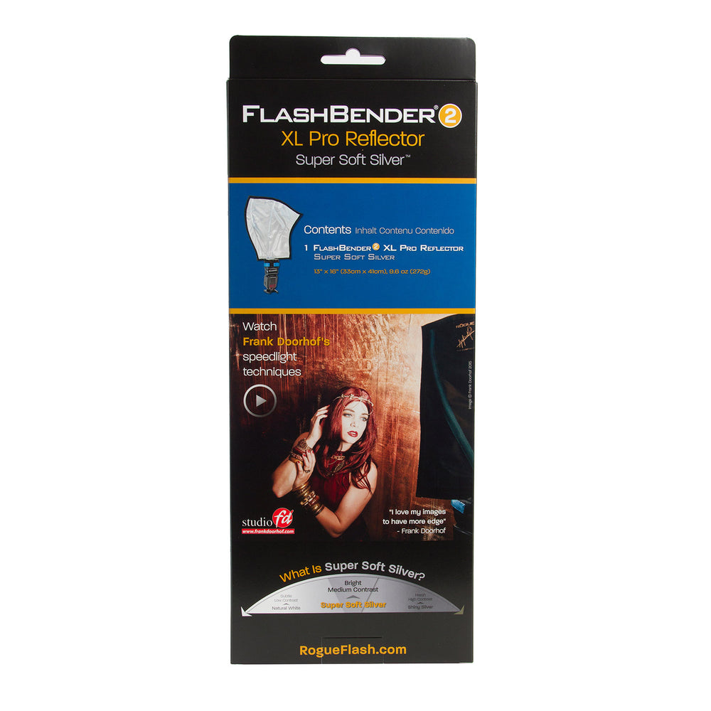 Load image into Gallery viewer, Rogue FlashBender 2 - XL Pro Super Soft Silver Reflector