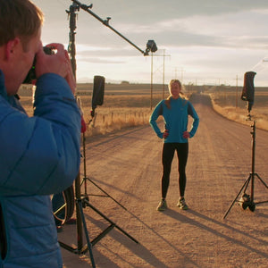 3 Speedlight Creating Edgy and Athletic Portraits on Location