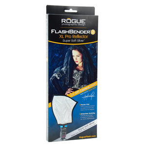 Rogue FlashBender 2 - XL Pro Super Soft Silver Reflector