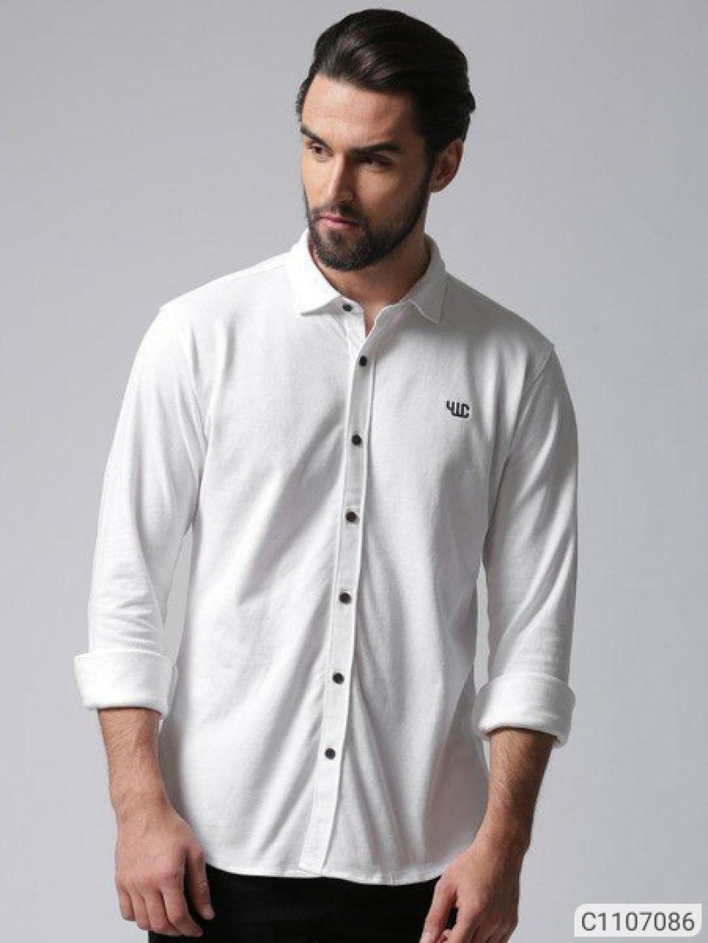 YWC Extreme White Classy Regular Fit Shirt