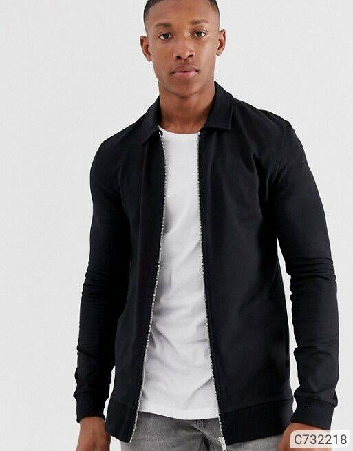 Extreme Black Harrington Herry Jacket