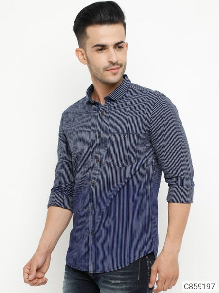 Denim Striped Shirt