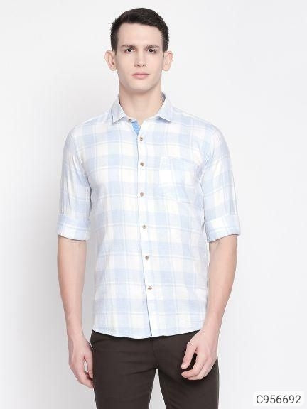 Berry Blue Check Long Sleeve Shirt