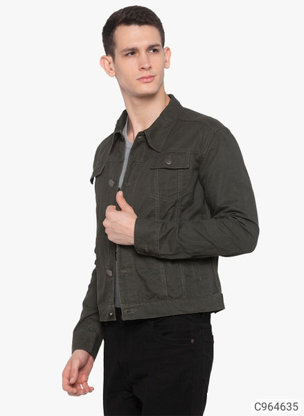 Slaye Grey Denim Jacket