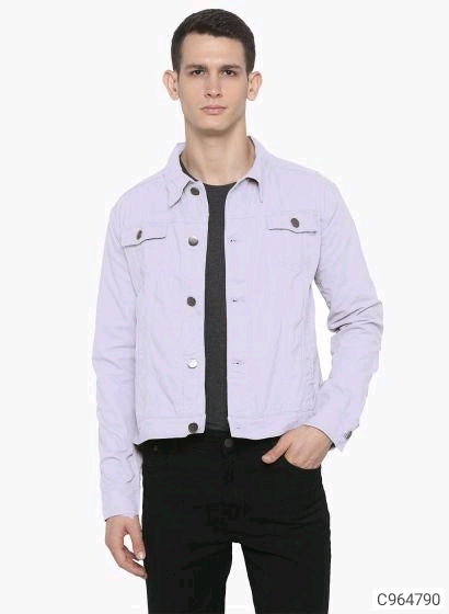 Thistle Purple Denim Jacket