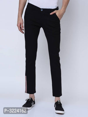 Tar Black Side Tape Chinos