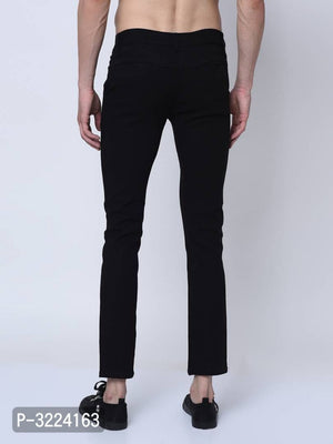Charcoal Black Chinos