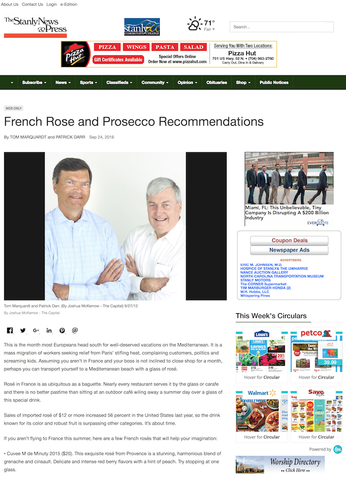 French Rose and Prosecco Recommendations