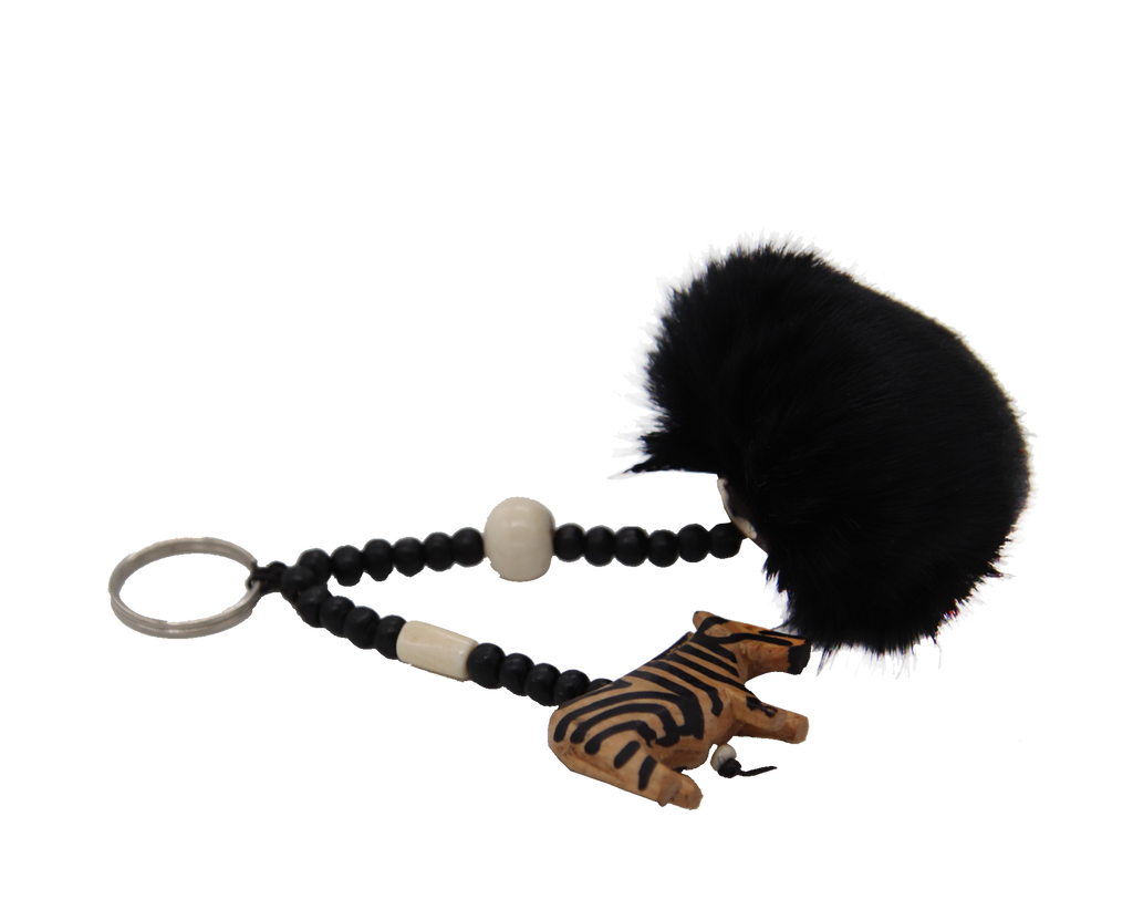 Fimbi - African Pom Pom Collection Keyring Holder