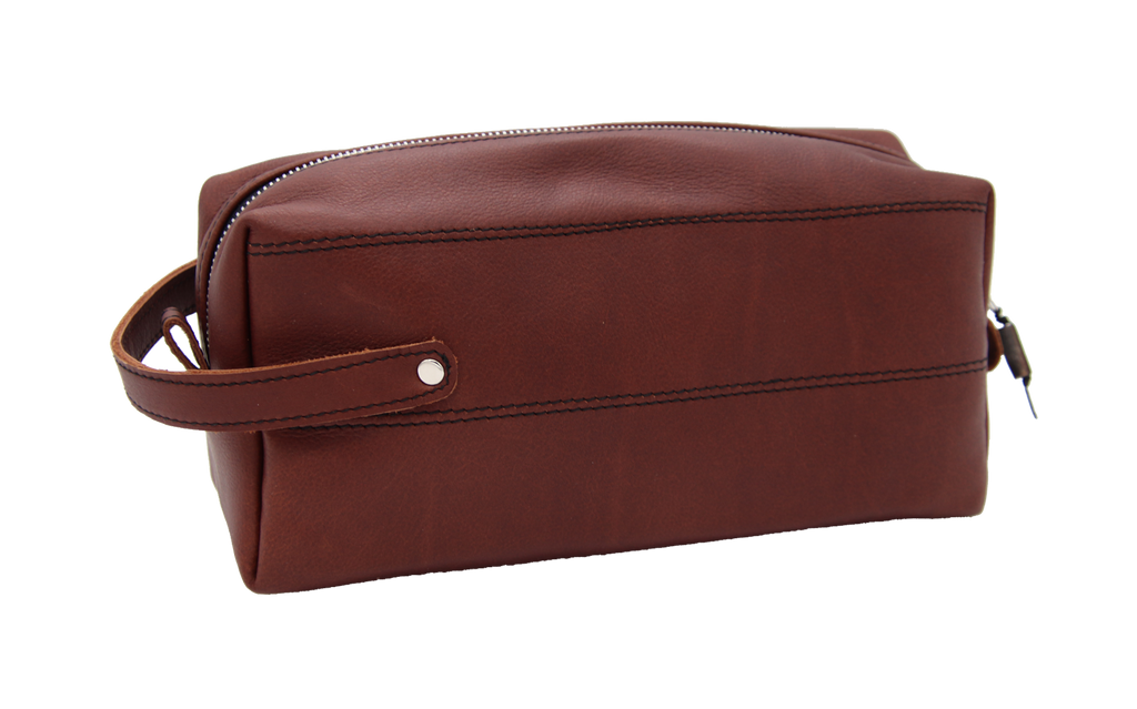 Fimbi - Leather Men's Wash Bag