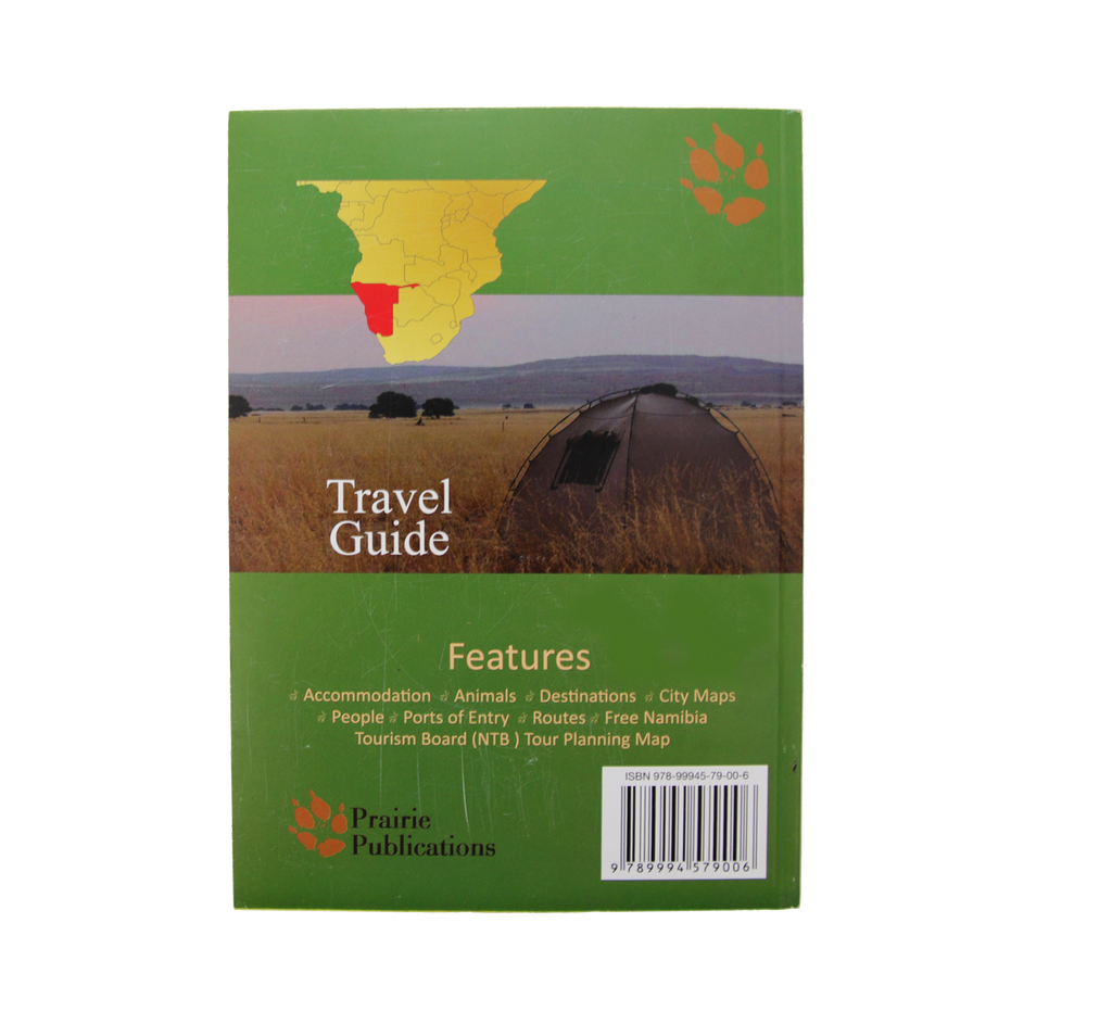 Namibia in brief - a Travel Guide Book