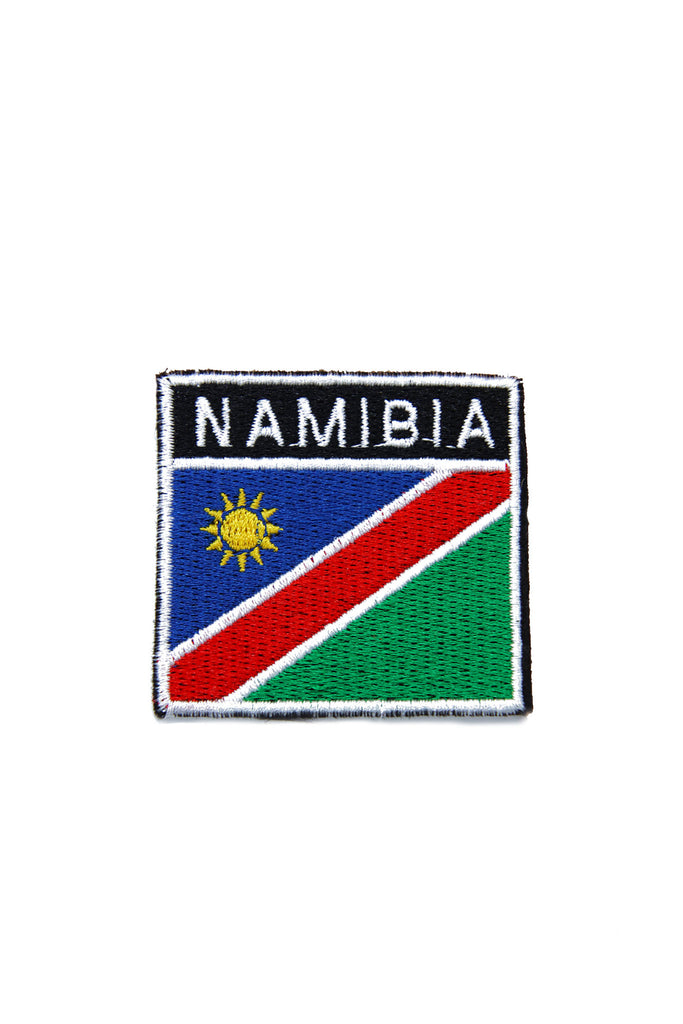 Namibian Flag Sew On Badge