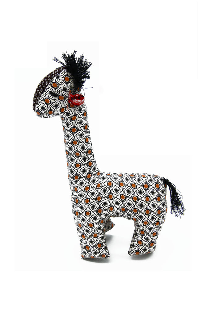 Little Bugs - Shwe Shwe Colourful Giraffe Soft Toy