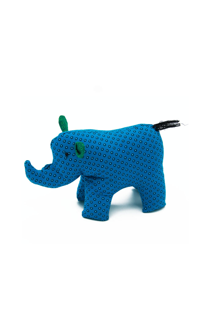 Little Bugs - Shwe Shwe Colourful Rhino Soft Toy Small