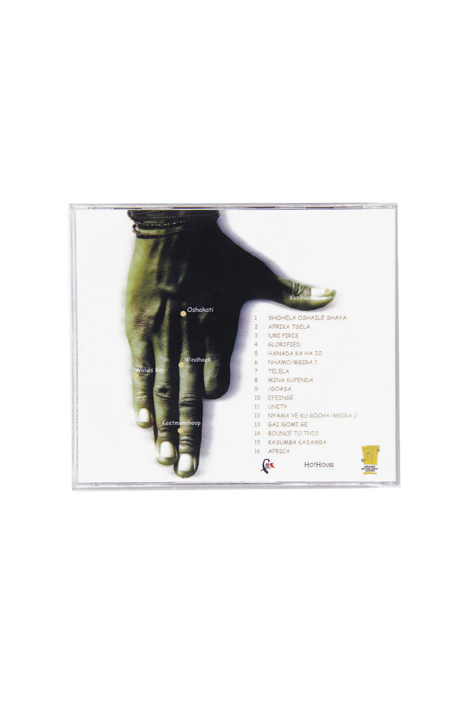 A Hand-Full of Namibia CD
