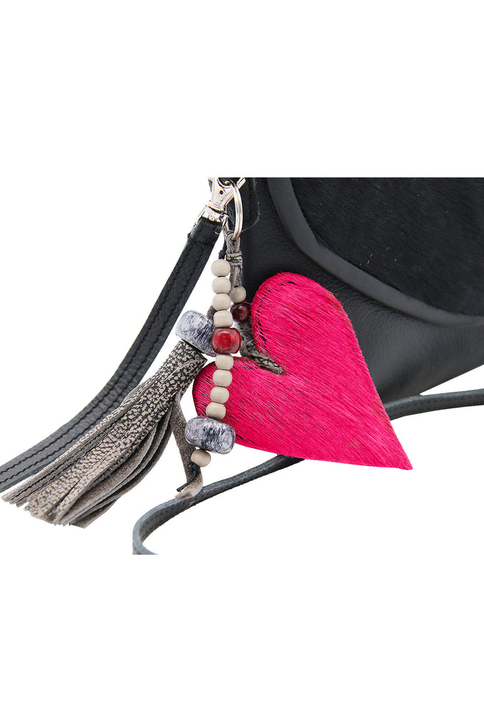 Fimbi - African Collection Heart Springbok Keyring Holder