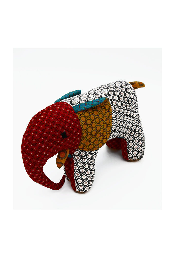 Little Bugs - Shwe Shwe Colourful Elephant Soft Toy Large