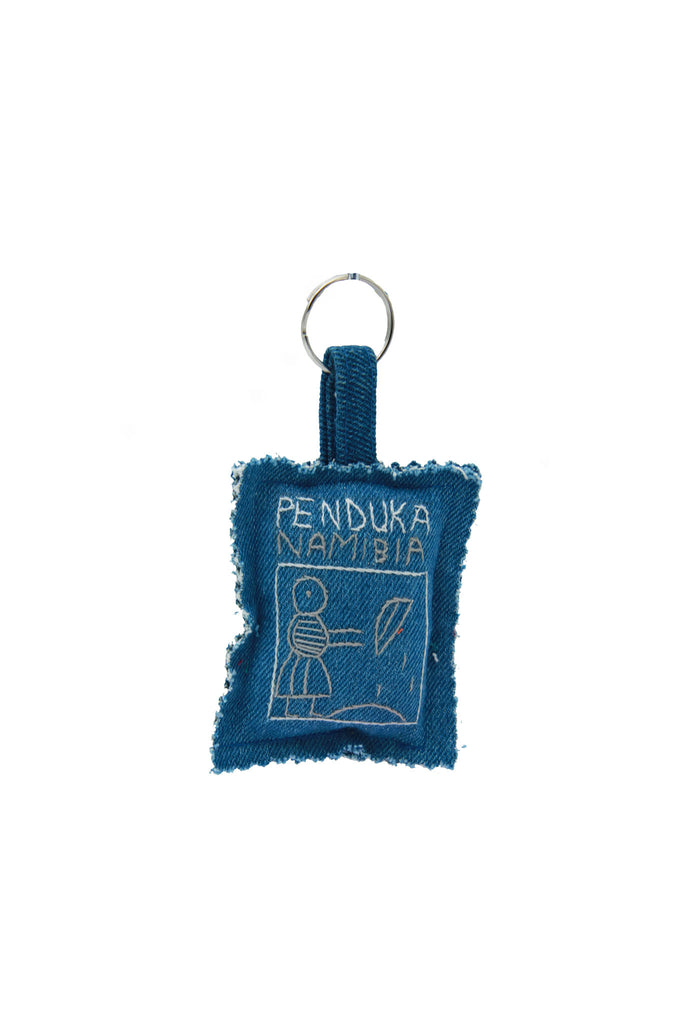 Penduka Namibia - Handmade Village Story Embroidered Keyrings