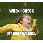 Bank Balance - Passticker