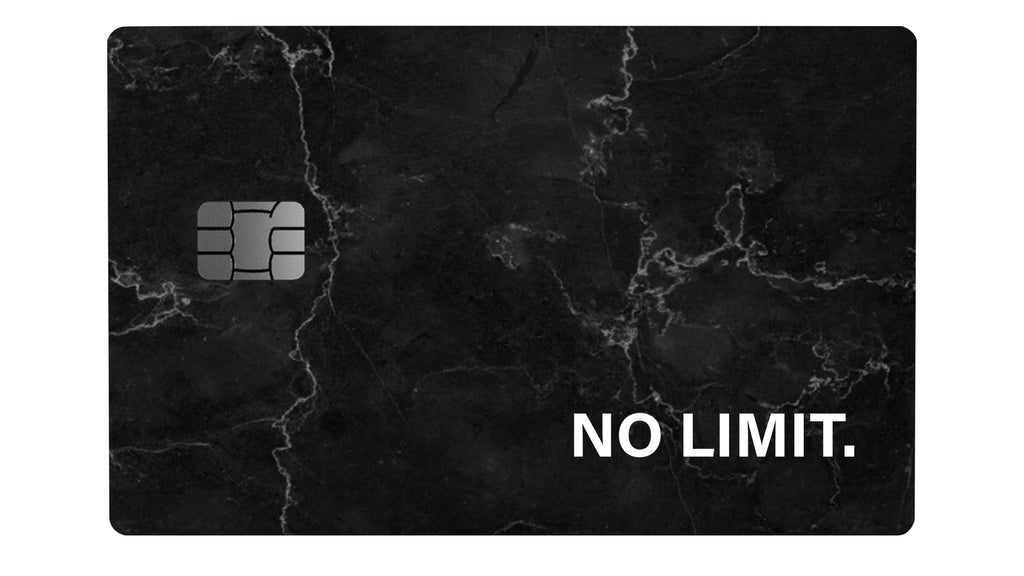 No Limit Black Marble - Passticker