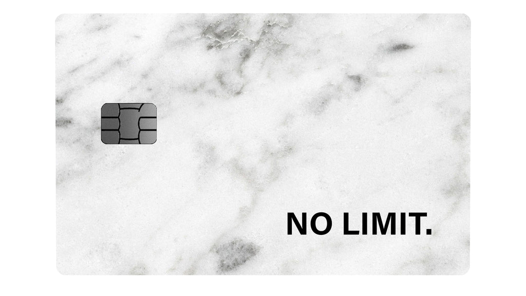NO LIMIT Marble White - Passticker