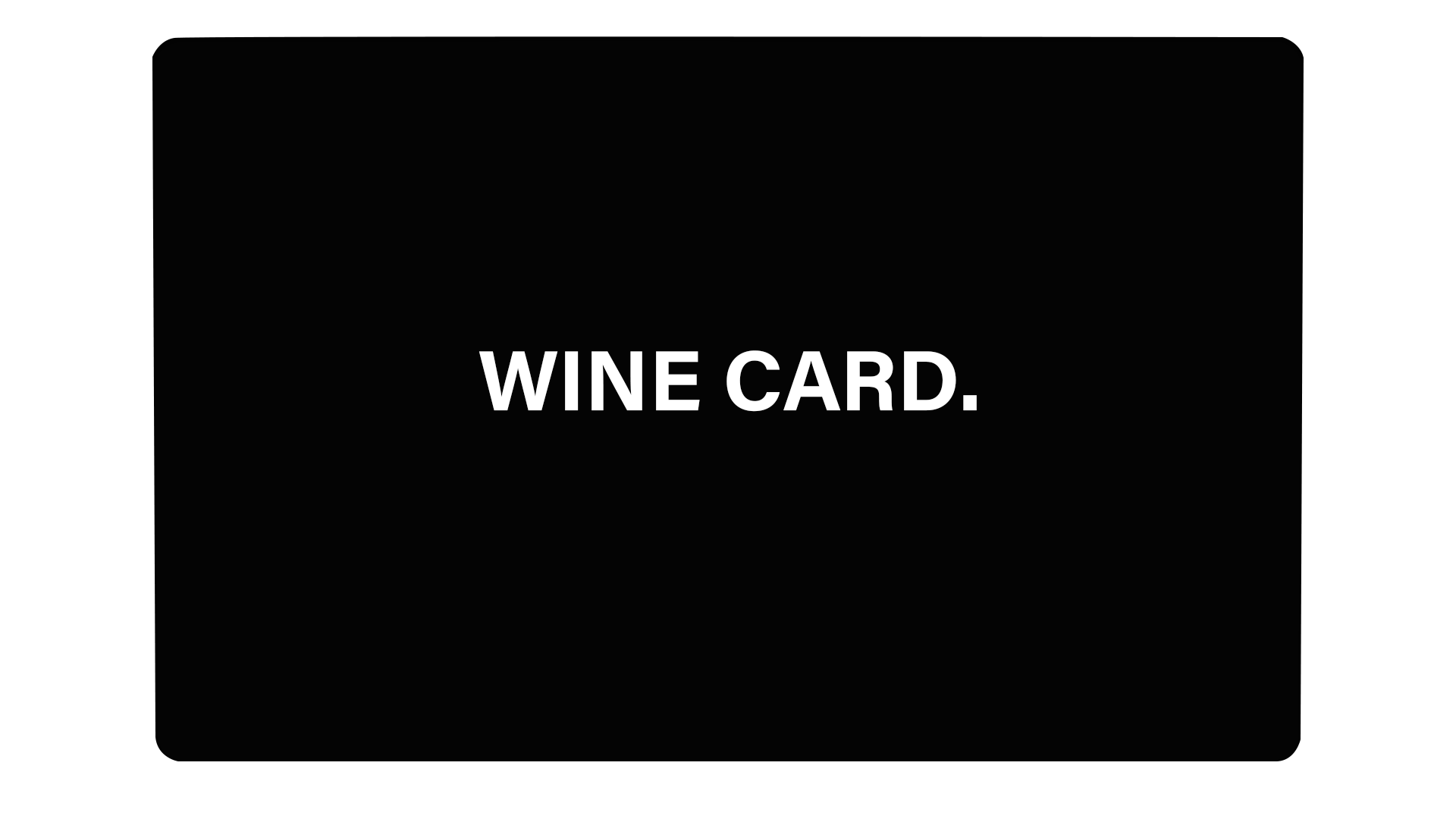 Wine Card - Passticker