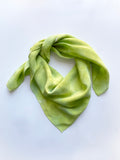 Allover Print Scarf in Citron