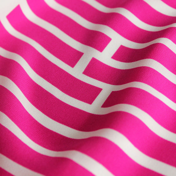 Pink Broken Stripe Tee SAMPLE