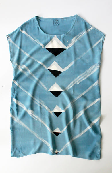 Blue Angle Deco Dress Sample