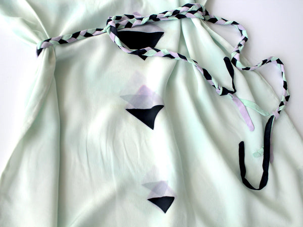 Mint Diamond Deco Dress Sample