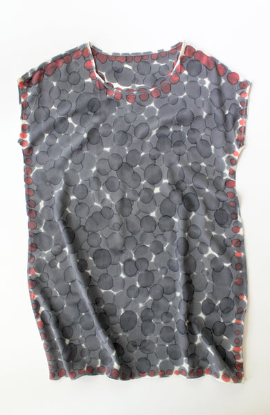 Grey Dot Dress Sample