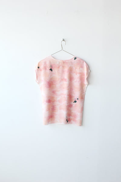 Rose Ink Silk Tee Sample