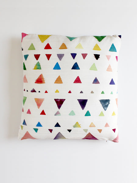 Triangle & Dot Pillow