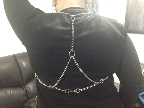 Chain Harness showing back.