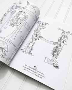 The Curious ABCs Coloring Book