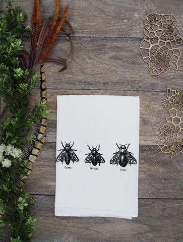 Bee Trio Kitchen Towel