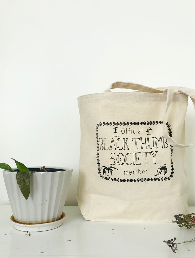Black Thumb Society Farmer's Market Tote