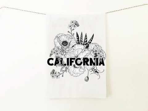 California Kitchen Towel