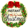Instant Christmas Scented Candle