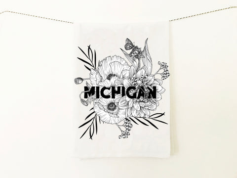 Michigan Kitchen Towel