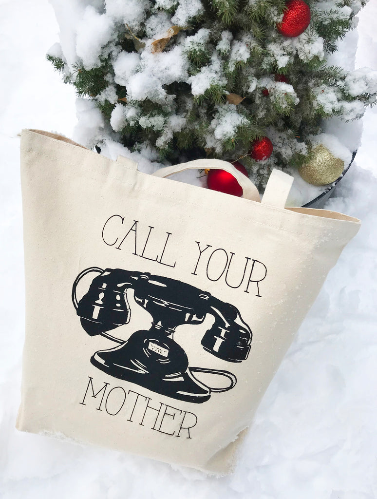 Call Your Mother Farmer's Market Tote