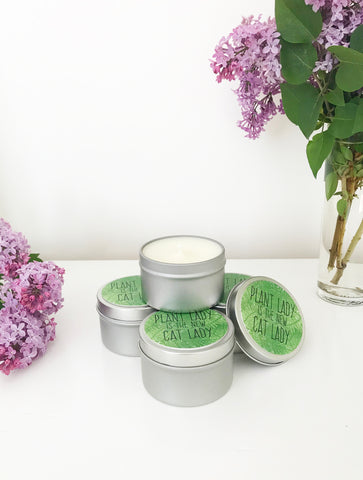 Plant Lady Scented Candle