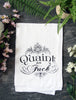 Quaint as F*@k Cotton Kitchen Towel
