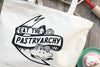 Eat the Pastryarchy Farmers Market Tote