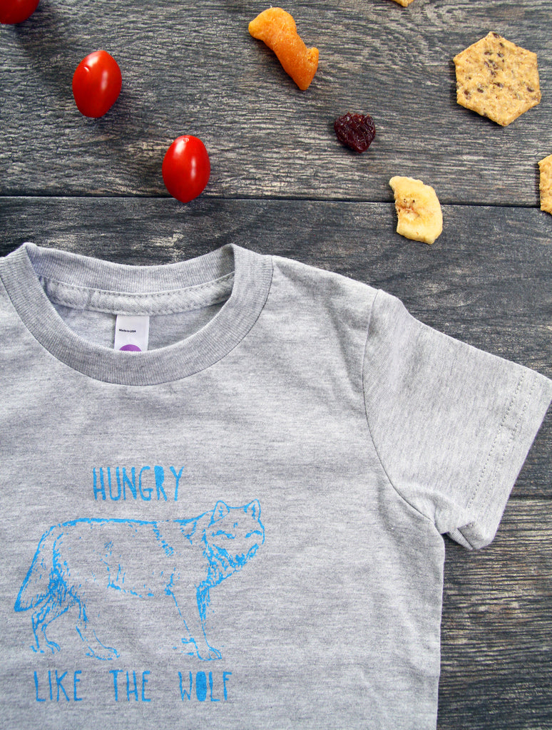 Hungry Like the Wolf Toddler Tee