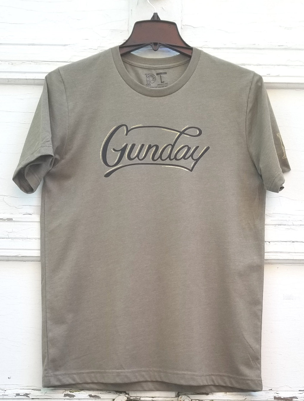 Men's Crew Neck Tee - Gunday